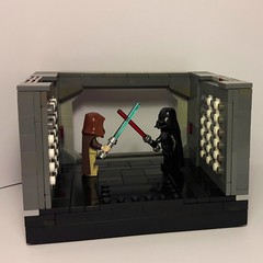 Deathstar Duel MOC (Mr rammlied) Tags: lego starwars darthvader newhope