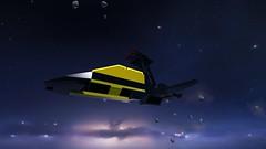 Blacktron 6941 Battrax (Sastrei87) Tags: lego homeworld brickspace gameart