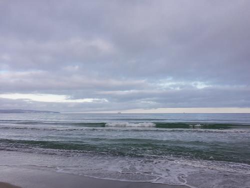 Am Strand von Prora