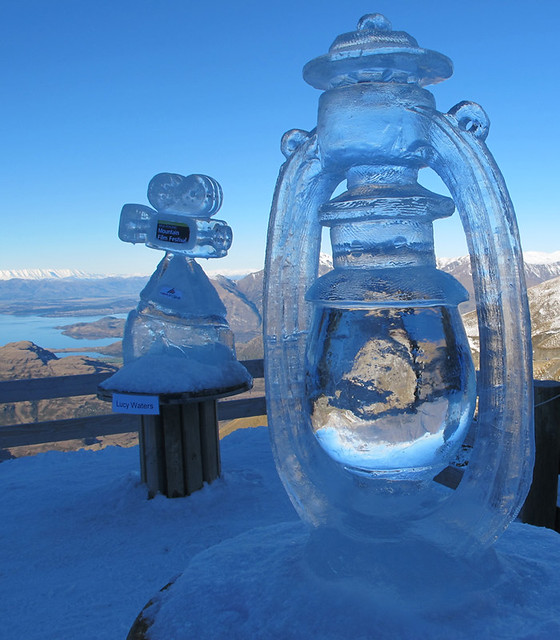 Ice Carving, Treble Cone NZ (11 July 2013)