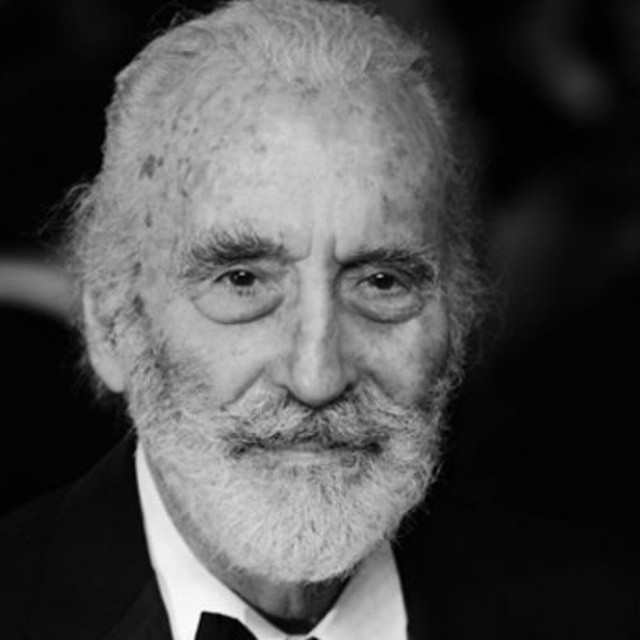 The brilliant Sir Christopher Lee has passed. RIP sir.