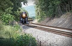 611 Getting Closer (Michael Kline) Tags: blue mountains virginia norfolk steam ridge roanoke western locomotive 611