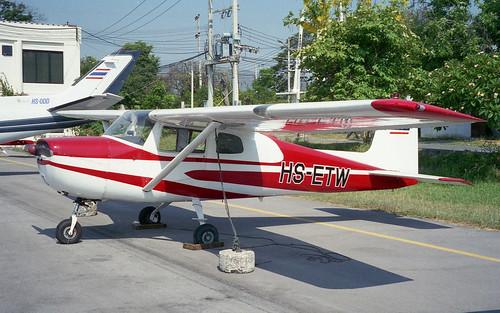 HS-ETW-01 Cessna 150B Hua Hin Mar96