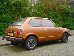 1979 HONDA Civic 1200 Hondamatic (ClassicsOnTheStreet) Tags: classic lines car amsterdam honda japanese outdoor automatic 70s vehicle 1200 civic streetphoto spotted 1970s 1979 streetview straatbeeld strassenszene noord 2014 youngtimer amsterdamnoord hondamatic klassieker gespot japanner straatfoto carspot tuindorpoostzaan kometensingel fg89tp