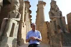 World Bank Group President Jim Yong Kim visits Luxor Temple (World Bank Photo Collection) Tags: northafrica egypt middleeast luxor worldbank jimkim jimyongkim