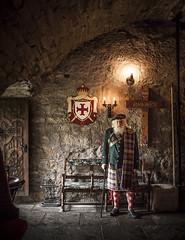 The Laird of Balgonie (Jamie Mellor) Tags: portrait castle beard scotland kilt fife chapel laird balgonie