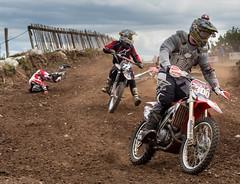 Motor x rider hits the dirt (barksworld) Tags: track crash x motorbike dirt motor collision motorcross norley