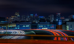 the final return (pbo31) Tags: sanfrancisco california longexposure motion black color june skyline night dark nikon traffic over overpass bayarea potrerohill roadway d800 280 2015 lightstream boury pbo31