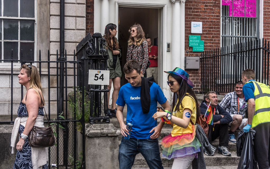 DUBLIN 2015 LGBTQ PRIDE PARADE [THE BIGGEST TO DATE] REF-105936