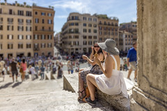 A Roman Tradition - Spagna, Rome.