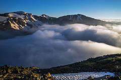 Send in the clouds... (Bill Bowman) Tags: colorado rockymountains inversion indianpeaks stratusclouds mountaudubon pawneepeak paiutepeak arapahopeak