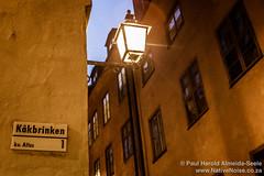 Kåkbrinken Road. Stockholm, Sweden