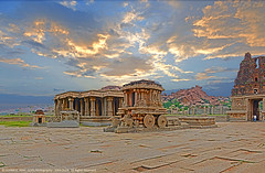 HAMPI, WHERE THE RUINS COME ALIVE... (GOPAN G. NAIR [ GOPS Photography ]) Tags: india architecture temple photography ruins empire karnataka hampi gops vittala gopan vijayanagara gopsorg gopangnair gopsphotography