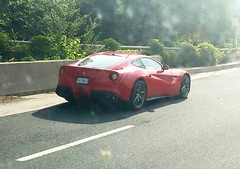 F12 on the road. (Maryland & Virginia Cars) Tags: cars car virginia rollsroyce ferrari mclaren porsche mercedesbenz bmw audi lamborghini supercar maserati f12
