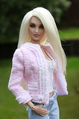Chanel style jacket with jeans (LyanneNZ) Tags: doll kingdom nelson