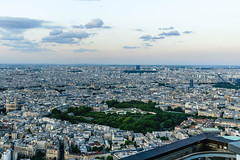 Montparnasse Tower, Luxembourg Gardens (wiandt.gabor) Tags: paris tower gardens luxembourg montparnasse