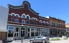 Bank Block (West Union, Iowa) (courthouselover) Tags: iowa ia banks fayettecounty downtowns westunion