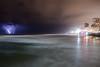 Lightning Storm (Dan Ydov) Tags: beautiful canon2470f4l canon6d colors danydovphotografer light lightning lightningstorm flickrelitgroup beach water sky blue winter cielo shore seaside most interesting