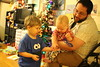 High five (quinn.anya) Tags: sam paul toddler preschooler andy glasses toy sharing brothers highfive