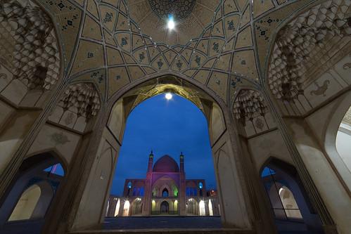 Iran - Kashan - Mosque