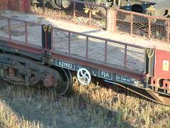FJA_110619 (3) (Transrail) Tags: fja container flat wagon bogie