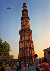 Modern & Ancient (Br@jeshKr) Tags: qutbminar ancient medieval monument delhi newdelhi unesco india minaret
