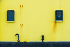 yellow Hello (ToDoe) Tags: yellow gelb black schwarz hello hallo
