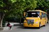 Yellow bus (MelindaChan ^..^) Tags: panyu china 番禺 guangdong guangzhou chanmelmel mel melinda melindachan village shrine rural life countryside 廣州