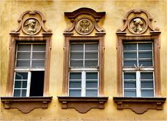 windows.......... (atsjebosma) Tags: old oud details yellow atsjebosma polen poland ramen closed open portraits poznan