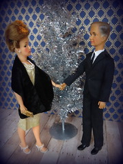 A New Year's Eve Date (Foxy Belle) Tags: tammy parents ideal doll vintage date new year years eve holiday romance marriage married couple mother father retro 1960s