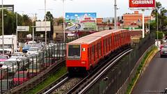 Alsthom MP-68 M.0090 | Gran Canal L-5 (Christian Linarez) Tags: cdmx ciudaddemexico linea5 alsthom alstom mp68 mp68r93 grancanal eduardomolina aragon stcmetro stc subway metrodf metro