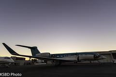 """VP-CJJ G650ER """"Penguin Jet"""" (KSBD Photo) Tags: burbank california unitedstates us burbankbobhopeairport hollywoodburbankairport vpcjj g650er penguinjet gulfstreamfan gulfstreamforever fanfriday"""