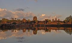 Cambodia - Angkor Wat - sunset