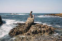 La Guardia, i love you (Helena Barker) Tags: laguardia camposancos beach playa rocas rocks ocean océano atlantic atlántico