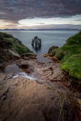 Hvítserkur (jon_helgi) Tags: hvítserkur iceland icelandic basalt volcanic volcano rock sunset midnightsun midnight leefilters troll trip travel summer 2016 tourists tourism tourist inspiredbyiceland amazingviewiceland