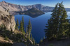 Crater Lake (Katie Elders daughter) Tags: usa oregon craterlakenationalpark nationalpark craterlake blue blau see wasser vulkansee cascades