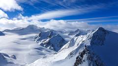 Glacier area Solden (Austria) (PaulHoo) Tags: lumix solden austria 2017 winter mountain glacier sky otztal ski snowboard big3 snow nature landscape blue clouds