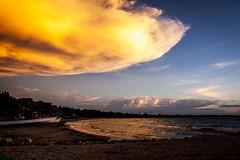 Rincón del Mar, Sucre (alejopublicista) Tags: atardeceres rostros sonrisas juegos niños playa mar colombia vacaciones paraíso