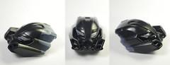 Stonemask Test Comp (novuscarpus) Tags: bionicle resin mask custom