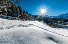 Chalet sous la neige (Deathscythe42) Tags: chalet landscape winter nature eos70d canon snow sun paysage montagne hiver soleil valmorel mountain tokina1116f28 2017 rhônealpes neige