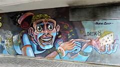 Nychos / Vitry-sur-Seine - 28 jan 2017 (Ferdinand 'Ferre' Feys) Tags: paris france streetart artdelarue graffitiart graffiti graff urbanart urbanarte arteurbano nychos