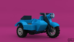 LEGO Tintin - Tintin's Bike (Concorer) Tags: brick toy tin lego fig snowy character group reporter azure games legos figure motorcycle tintin decal tt minifig adventures calculus professor custom knob dupont unicorn ideas et thompson journalist tournesol sidecar dimensions milou minifigure herge capitaine dupond tompson concore tryphon crowdfund hergé's herge's