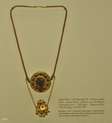 Treasury, gouden figuurtjes uit de 3e en 4e eeuw; Georgisch Nationaal Museum