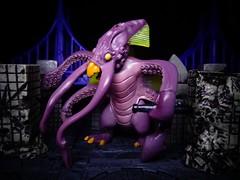 Krakenoctus (ridureyu1) Tags: toy toys actionfigure kaiju giantsquid giantmonsters toyphotography monsterpocalypse thetritons sonycybershotsonycybershotdscw690 krakenoctus