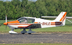 G-BHLE Robin DR400-180 (PlanecrazyUK) Tags: fly in sturgate 070615 egcv gbhle robindr400180