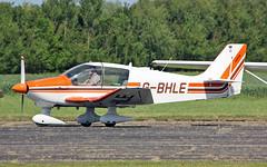 """G-BHLE Robin DR400-180 Sturgate  EGCV Fly In 07-06-15 (PlanecrazyUK) Tags: """"fly in"""" sturgate 070615 egcv gbhle robindr400180"""