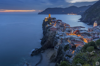 Vernazza at Blue Hour [IT]