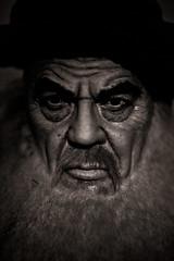 Ayatollah Khomeini, Grand Prairie Texas, 2011, Plate 2 (Thomas Hawk) Tags: bw usa texas unitedstates unitedstatesofamerica ripleys dfw waxmuseum ripleysbelieveitornot khomeini grandprairie ayatollahkhomeini ruhollahkhomeini dmudallas012011 louistussaudspalaceofwax louistussaudspalaceofwax