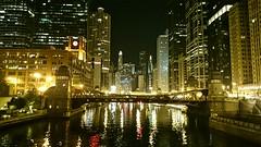 Chicago delights (nihalbhoja) Tags: bridge chicago nightlife stillwater