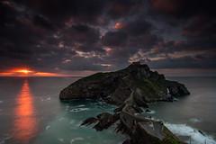 Sun Juan (BIZKAIA) (Jonatan Alonso) Tags: longexposure sunset sea seascape nikon bizkaia bermeo gaztelugatxe nikon20mm18